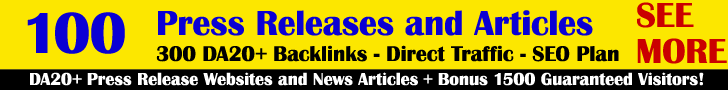 Article and Press Release Service